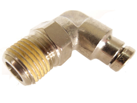 1/8 NPT to 5/32 Slip Fit 90 Swivel Elbow - Push Connect Tube Fittings - Palmers Pursuit Shop - Palmers Pursuit Shop