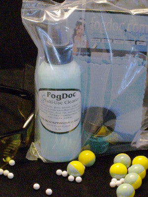 FogDoc Total Clean System - Masks, Goggles, Defog & Lens Cleaner - Palmers Pursuit Shop - Palmers Pursuit Shop