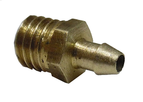 "10-32 -1/16"" Brass Rock Barb with Oversized  port - Air Fittings - Palmers Pursuit Shop - Palmers Pursuit Shop"