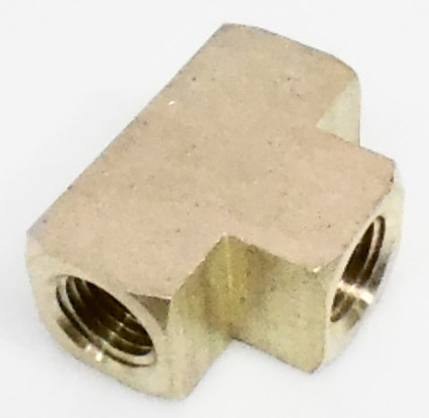 1/4 NPT Tee, female - female - female - 1/4 NPT - Air Fittings - Palmers Pursuit Shop