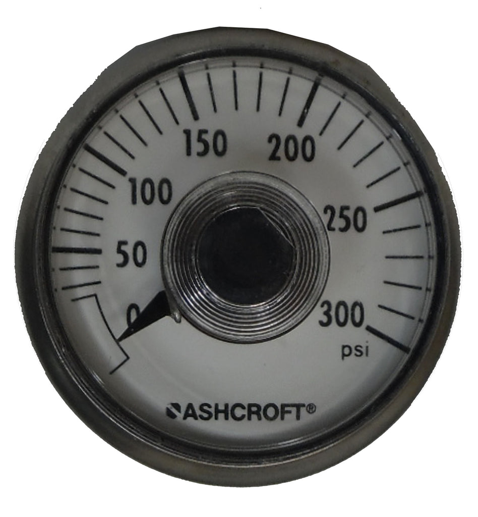 Ashcroft Gauge - :0-300 PSI - Regulators - Palmers Pursuit Shop - Palmers Pursuit Shop