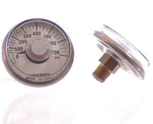 Ashcroft Gauge 0-700 PSI - Air Fittings - n/a - Palmers Pursuit Shop