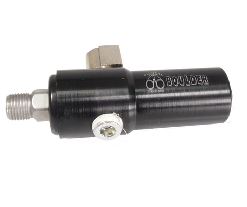Boulder Co2 Air Pneumatic Regulator Up to 4500 psi input Adjustable 0-250 psi output - Regulators - Palmers Pursuit Shop - Palmers Pursuit Shop