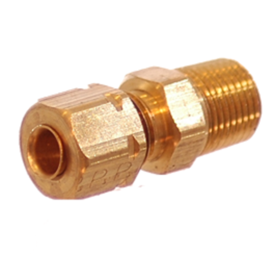 Npt to compression tube fitt air fitting