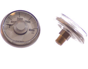 Ashcroft Gauge - :0-4000 PSI - Industrial - Palmers Pursuit Shop - Palmers Pursuit Shop