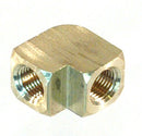 1/8 NPT Female - Female 90° Elbow, Brass - 1/8 NPT - Air Fittings - Palmers Pursuit Shop