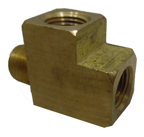 1/8 NPT Male x Female x Female Tee - 1/8 NPT - Air Fittings - Palmers Pursuit Shop
