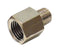 1/4 Female to 1/8 NPT Male Reducer, Nickel Finish - 5 Pack - Air Fittings - Palmers Pursuit Shop - Palmers Pursuit Shop