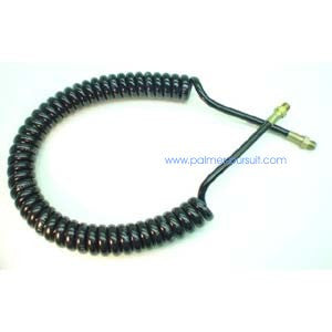 Pneumatic Coiled Remote Hose with crimped 1/8 NPT connections - Hose - Palmers Pursuit Shop - Palmers Pursuit Shop