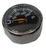 Mini Gauge, 0- 2000 PSI - Specials - Palmers Pursuit Shop - Palmers Pursuit Shop