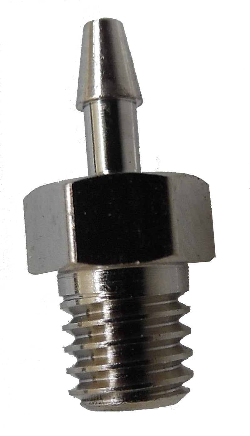 10-32 tapered thread barb to 1/6 ID tube
