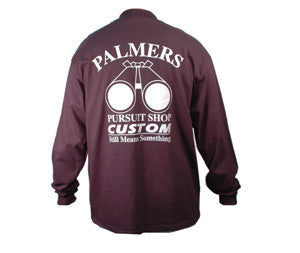 Palmers Pursuit Shop T Shirt Long Sleeve - Black