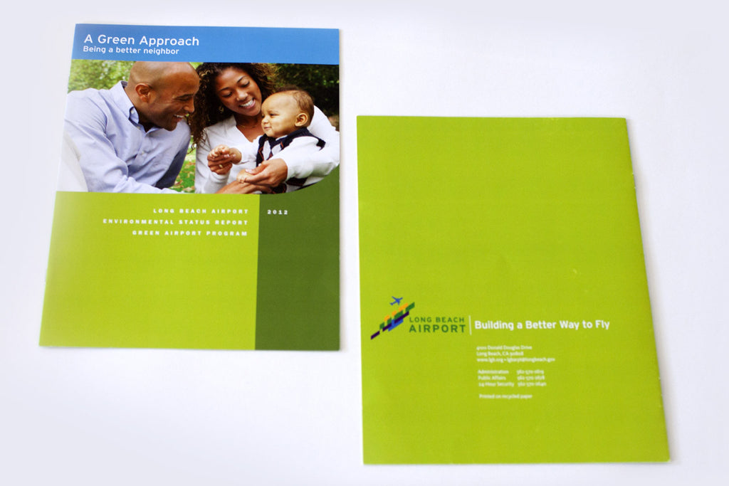 Brochure Design for Long Beach Airport