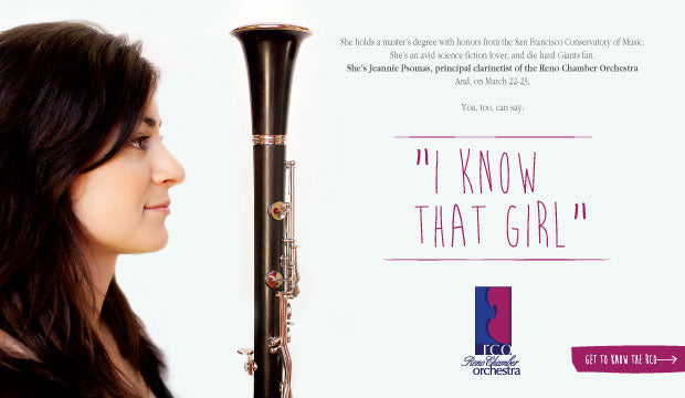 Marketing campaign for Reno Chamber Orchestra