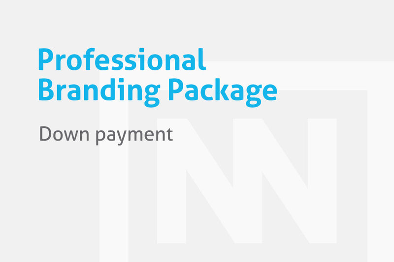 Professional Branding Package (down payment)