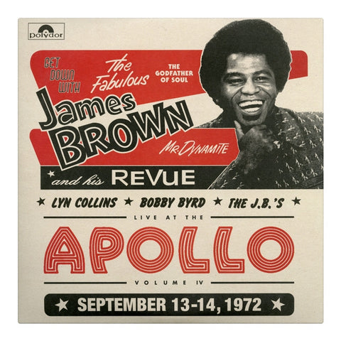 Get Down With James Brown: Live At The Apollo Vol 4 Vinyl