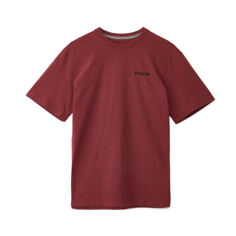 Patagonia M's Fitz Roy Horizons Responsibili-Tee Oxide Red