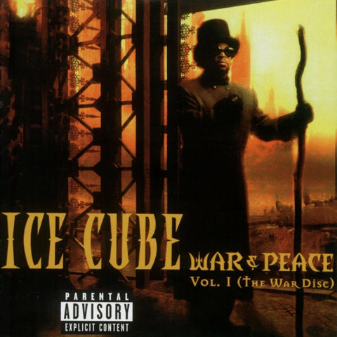Ice Cube War And Peace Vol 1 Vinyl