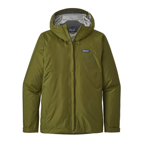 Patagonia Torrent Shell Jacket Willow Herb Green
