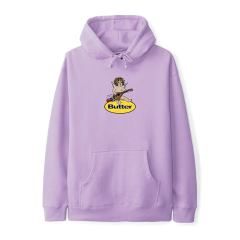 Butter Goods Angel Badge Pullover Lavender