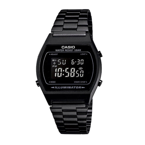Casio Digital Steel Band B640WB-1BEF WaterBlack/Black