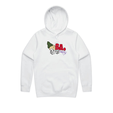 Bad Apples x Locality Dylan Dice Hood White
