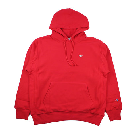 Champion Reverse Weave Hood Red