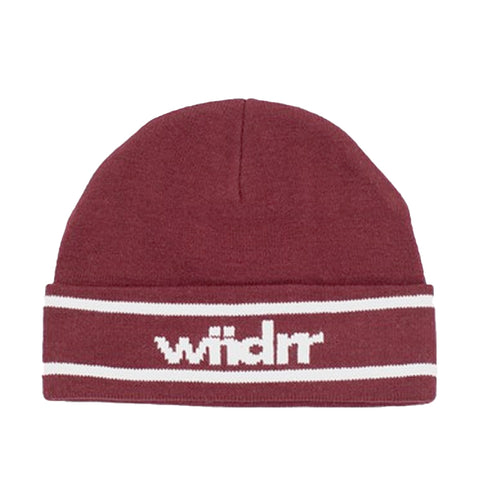 WNDRR District Beanie Burgundy