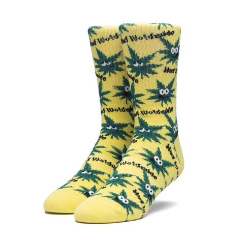 Huf Green Buddies Plantlife Sock