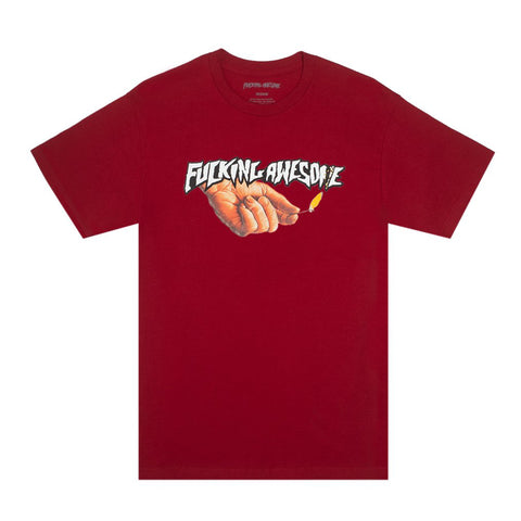 Fucking Awesome Pyro Tee Red