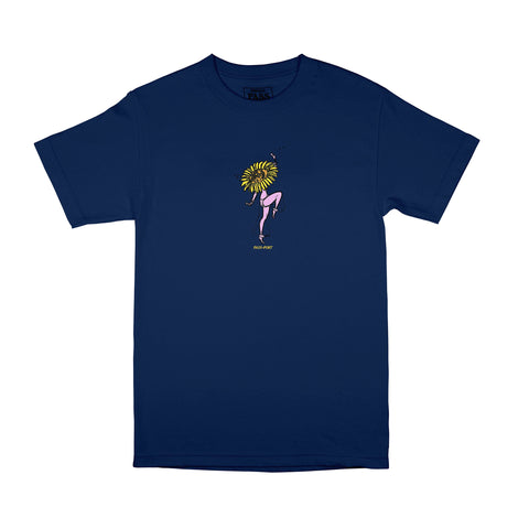 Passport Floral Dancer Tee Navy