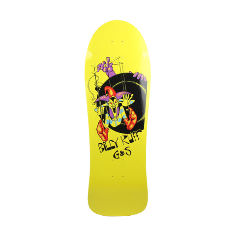 G&S Billy Ruff Puppet Bomb Deck 9.6