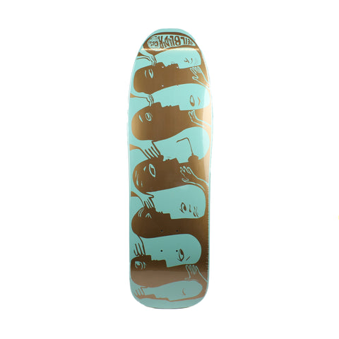 G&S Neil Blender Faces Deck Green 9.5