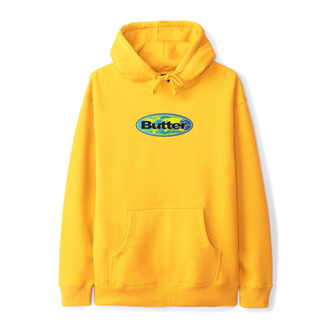 Butter Goods Global Logo Pullover Gold