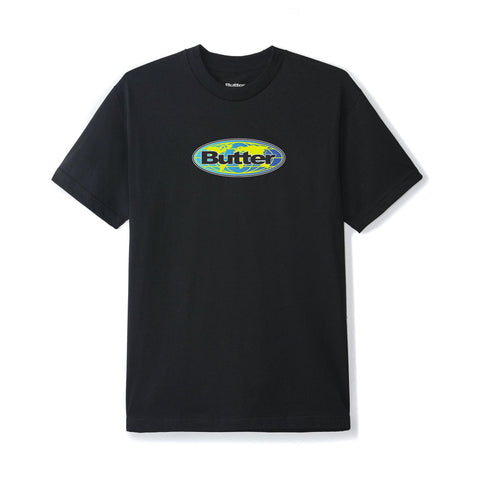Butter Goods Global Tee Black