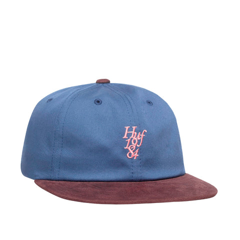 Huf 1984 Contrast 6 Panel Hat Insignia Blue