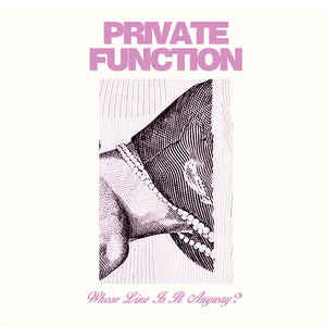 Private Function Whose Line Is It Anyway?