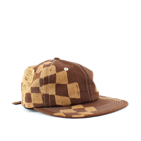 Smile + Wave Snake Snitch Cap Brown