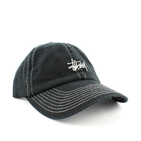 Stussy Graffiti Contrast Low Pro Cap Black