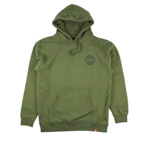 Spitfire Classic Swirl Hood Army