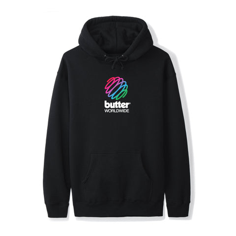 Butter Goods Telecom Pullover Black