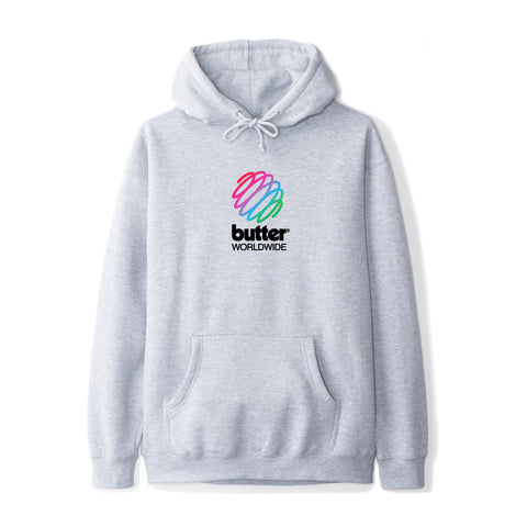 Butter Goods Telecom Pullover Heather Grey