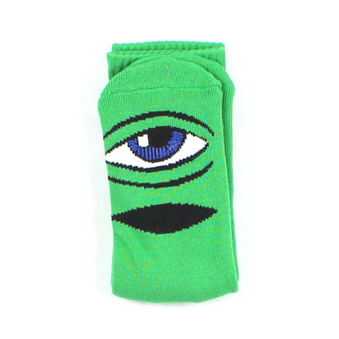 Toy Machine Socks Green