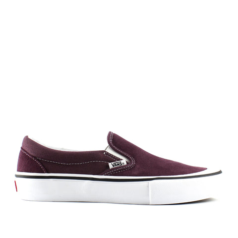 Vans Slip On Pro Raisin/White