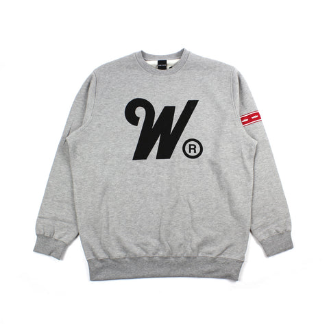 WNDRR Phillips Crewneck Grey Medium Sale