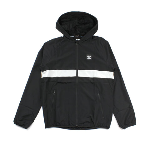 Adidas BB Wind Jacket Stripe Black/White