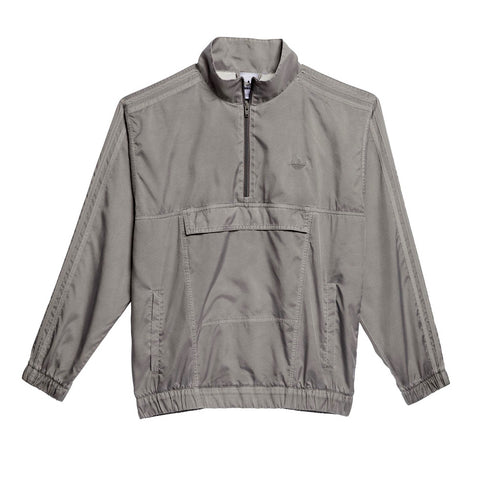 Adidas Garment Dyed Anorak Taupe Oxide