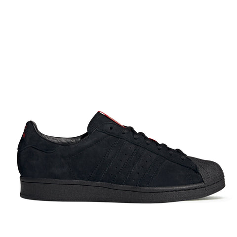Adidas X Thrasher Superstar ADV Black/Red