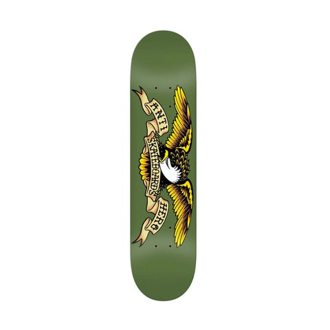 Antihero Classic Eagle Deck Green 8.38