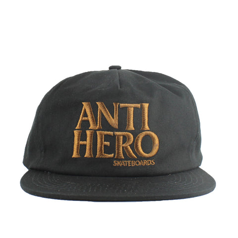 Antihero Blackhero Embriodered Cap